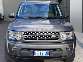 2013 Land Rover Discovery 4 Series 4 L319 MY13 V8 CommandShift Grey 6 Speed Sports Automatic Wagon.
