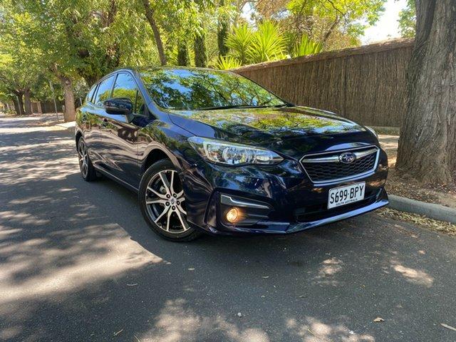 Pre-Owned Subaru Impreza G5 MY17 2.0i CVT AWD Hawthorn, 2017 Subaru Impreza G5 MY17 2.0i CVT AWD Blue 7 Speed Constant Variable Hatchback