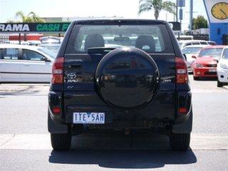2005 Toyota RAV4 ACA23R CV Sport Black 4 Speed Automatic Wagon