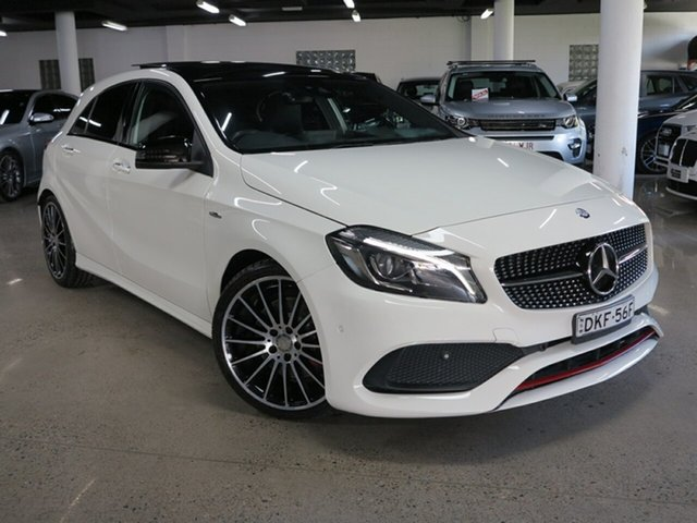 Used Mercedes-Benz A-Class W176 807MY A250 D-CT 4MATIC Sport Albion, 2016 Mercedes-Benz A-Class W176 807MY A250 D-CT 4MATIC Sport White 7 Speed