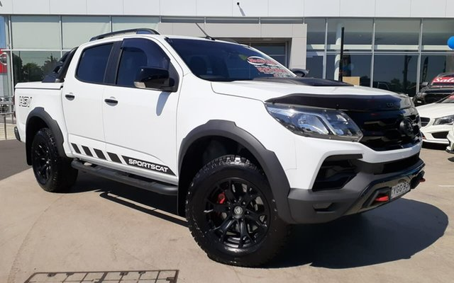 Used Holden Special Vehicles Colorado RG MY20 SportsCat Pickup Crew Cab SV Liverpool, 2019 Holden Special Vehicles Colorado RG MY20 SportsCat Pickup Crew Cab SV White 6 Speed
