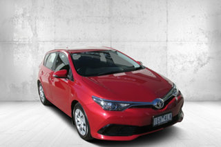 2015 Toyota Corolla ZRE182R Ascent S-CVT Red 7 Speed Constant Variable Hatchback.