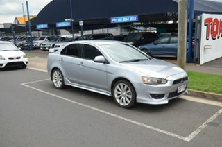 2008 Mitsubishi Lancer CJ MY09 VR-X Silver 5 Speed Manual Sedan