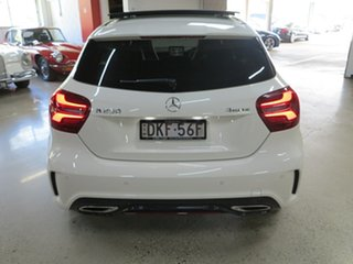 2016 Mercedes-Benz A-Class W176 807MY A250 D-CT 4MATIC Sport White 7 Speed