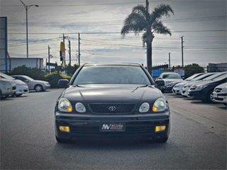 1998 Toyota Aristo JZS161 V300 Black Automatic Sedan.