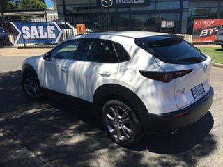 2020 Mazda CX-30 DM4WLA G25 SKYACTIV-Drive i-ACTIV AWD Touring White Pearl 6 Speed Sports Automatic
