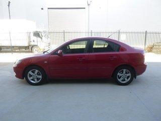 2005 Mazda 3 BK Series 1 Maxx Red Manual Sedan