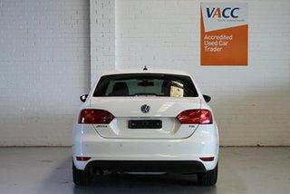 2013 Volkswagen Jetta 1B MY13.5 118TSI DSG Comfortline White 7 Speed Sports Automatic Dual Clutch
