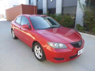 2005 Mazda 3 BK Series 1 Maxx Red Manual Sedan.