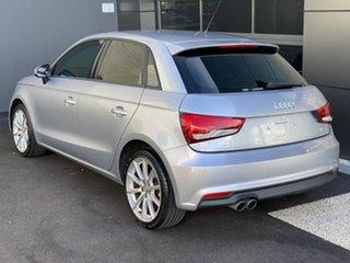 2017 Audi A1 8X MY17 Sport Sportback S Tronic Silver 7 Speed Sports Automatic Dual Clutch Hatchback