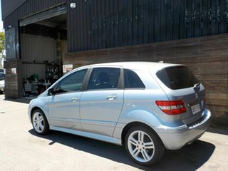 2010 Mercedes-Benz B-Class W245 MY10 B180 Blue 1 Speed Constant Variable Hatchback
