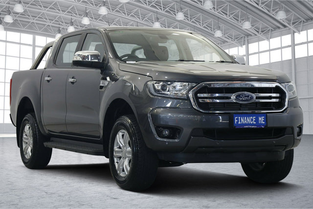 Used Ford Ranger PX MkIII 2019.00MY XLT Victoria Park, 2018 Ford Ranger PX MkIII 2019.00MY XLT Grey 6 Speed Sports Automatic Utility