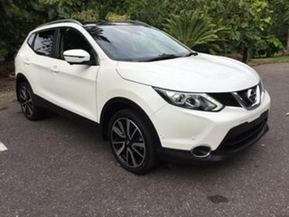 2017 Nissan Qashqai J11 TI White 1 Speed Constant Variable Wagon.