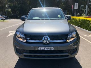2020 Volkswagen Amarok 2H MY21 TDI550 4MOTION Perm Core Grey 8 Speed Automatic Utility.