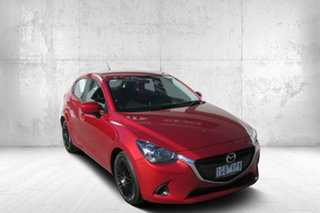 2015 Mazda 2 DJ2HAA Neo SKYACTIV-Drive Red 6 Speed Sports Automatic Hatchback.