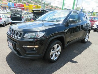 2018 Jeep Compass M6 MY18 Longitude FWD Black 6 Speed Automatic Wagon.