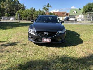 2013 Mazda 6 GJ1031 Touring SKYACTIV-Drive Grey 6 Speed Sports Automatic Sedan.