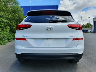 2020 Hyundai Tucson TL3 MY21 Elite AWD White Pearl 8 Speed Sports Automatic Wagon