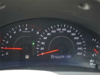 2010 Toyota Aurion GSV40R AT-X Red Sports Automatic Sedan