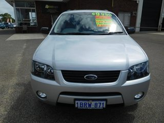 2004 Ford Territory SX TX AWD Silver 4 Speed Sports Automatic Wagon.