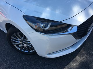 2020 Mazda 2 DJ2HAA G15 SKYACTIV-Drive Evolve White Pearl 6 Speed Sports Automatic Hatchback.