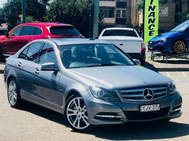 Used Mercedes-Benz C-Class W204 MY11 C250 BlueEFFICIENCY 7G-Tronic + Elegance Liverpool, 2011 Mercedes-Benz C-Class W204 MY11 C250 BlueEFFICIENCY 7G-Tronic + Elegance Silver, Chrome 7 Speed