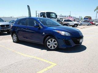 2010 Mazda 3 BL10F1 MY10 Neo Blue 6 Speed Manual Hatchback.