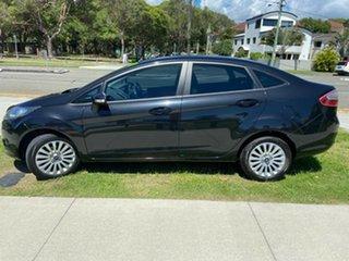 2010 Ford Fiesta WT LX PwrShift Black 6 Speed Sports Automatic Dual Clutch Sedan