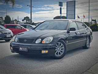 1998 Toyota Aristo JZS161 V300 Black Automatic Sedan