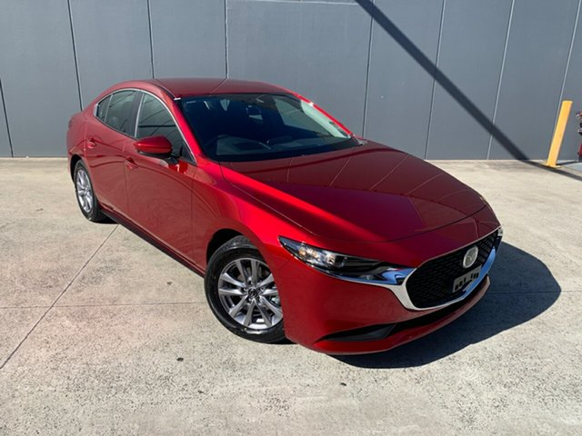 New Mazda 3 BP2S7A G20 SKYACTIV-Drive Pure Alexandria, 2020 Mazda 3 BP2S7A G20 SKYACTIV-Drive Pure Soul Red Crystal 6 Speed Sports Automatic Sedan