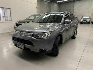 2014 Mitsubishi Outlander ZJ MY14.5 ES 2WD Grey 5 Speed Manual Wagon.