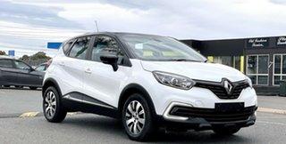 2018 Renault Captur J87 Zen EDC White 6 Speed Sports Automatic Dual Clutch Hatchback