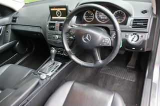 2010 Mercedes-Benz C200 W204 MY10 CGI Elegance Grey 5 Speed Auto Tipshift Wagon