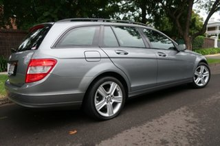 2010 Mercedes-Benz C200 W204 MY10 CGI Elegance Grey 5 Speed Auto Tipshift Wagon.