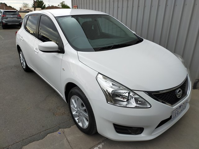 Used Nissan Pulsar C12 Series 2 ST Horsham, 2015 Nissan Pulsar C12 Series 2 ST 1 Speed Constant Variable Hatchback