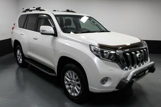 2015 Toyota Landcruiser Prado GDJ150R VX White 6 Speed Sports Automatic Wagon.