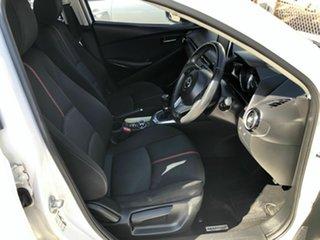 2014 Mazda 2 DJ2HA6 Genki SKYACTIV-MT White 6 Speed Manual Hatchback