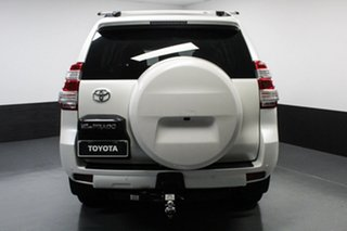 2015 Toyota Landcruiser Prado GDJ150R VX White 6 Speed Sports Automatic Wagon