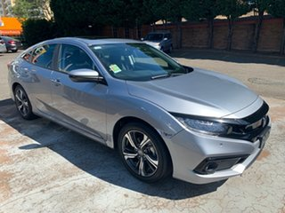 2020 Honda Civic 10th Gen MY20 VTi-LX Lunar Silver 1 Speed Constant Variable Sedan
