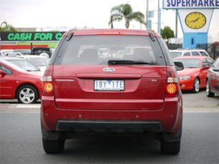 2009 Ford Territory SY MkII TS Red Sports Automatic Wagon