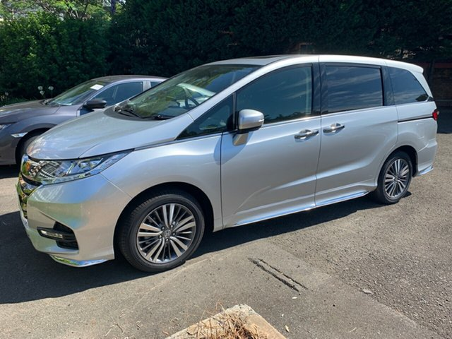 New Honda Odyssey RC MY20 VTi-L Hornsby, 2020 Honda Odyssey RC MY20 VTi-L Super Platinum 7 Speed Constant Variable Wagon
