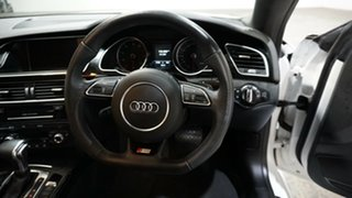 2014 Audi A5 8T MY15 (N5) S Tronic Quattro White 7 Speed Sports Automatic Dual Clutch Coupe