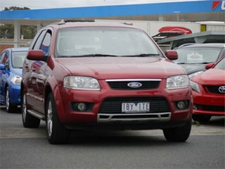 2009 Ford Territory SY MkII TS Red Sports Automatic Wagon.