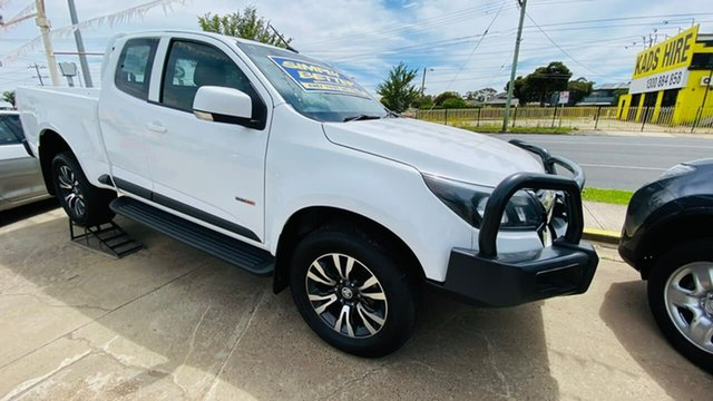 Used Holden Colorado RG LS Maidstone, 2018 Holden Colorado RG LS White Sports Automatic Utility