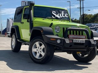 2016 Jeep Wrangler JK MY17 Sport Green 5 Speed Automatic Softtop.