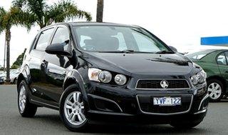 2012 Holden Barina TM Black 5 Speed Manual Hatchback.