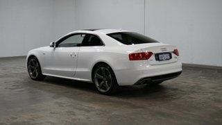 2014 Audi A5 8T MY15 (N5) S Tronic Quattro White 7 Speed Sports Automatic Dual Clutch Coupe.