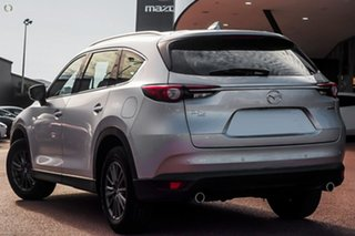 2020 Mazda CX-8 KG4W2A Touring SKYACTIV-Drive i-ACTIV AWD Silver 6 Speed Sports Automatic Wagon