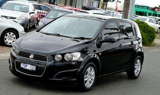 2012 Holden Barina TM Black 5 Speed Manual Hatchback
