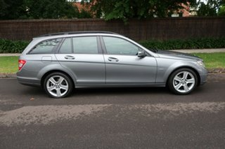 2010 Mercedes-Benz C200 W204 MY10 CGI Elegance Grey 5 Speed Auto Tipshift Wagon
